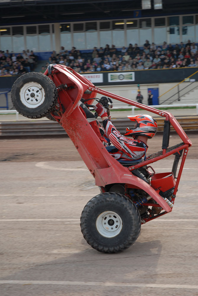 Pilot Buggy: Scott May's Daredevil Stunt Show