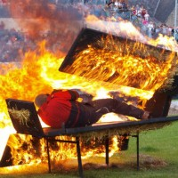 Exploding Coffin