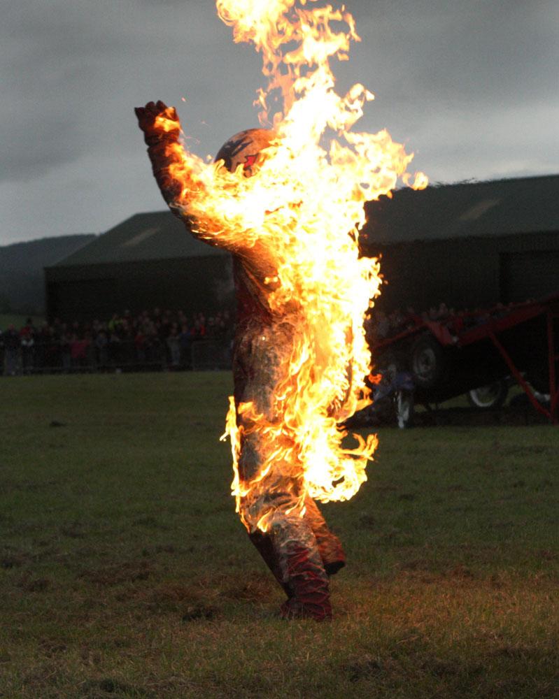 Car That Runs On Air >> Fire Stunts: Scott May's Daredevil Stunt Show