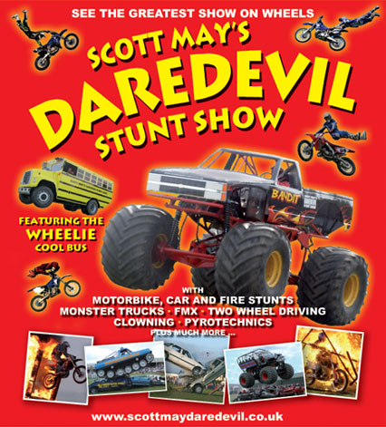 Stunt Shows Amp Driving Experiences Scott May S Daredevil