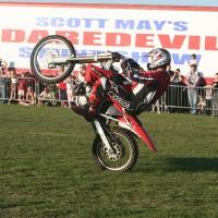 Scott May Bike Wheelie