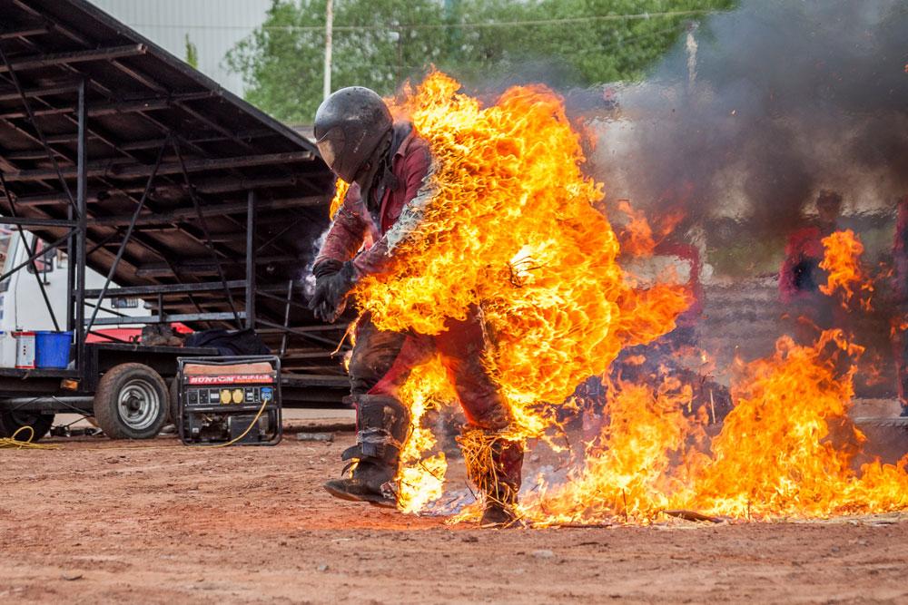 7 Passenger Vehicles >> Fire Stunts: Scott May's Daredevil Stunt Show